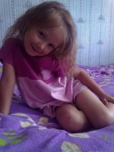 Дашенька Рыбьякова 6 лет